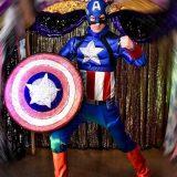 Animación infantil Capitán América